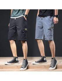 Five Pants Men's Season Trend Slim Loose Thin Sports Casual Pants Pants Shorts