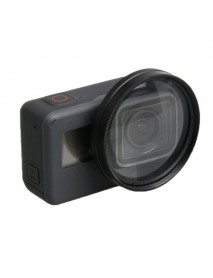 52mm 10X Magnifier Close Up Lens for Gopro Hero 5 Sports Camera Accessories