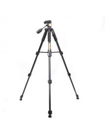 Portable QZSD Q111 4 Sections 5KG Tripod With Q08 Rocker Arm Ball Head For SLR Camera