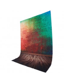1.5x2.1M 5x7FT Colorful Wall Floor Vinyl Studio Photography Backdrop Props Background