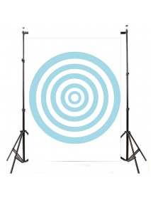 3x5FT Blue Circle Photography Backdrop Photo Studio Background