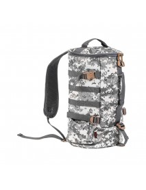 23L Fishing Gear Shoulder Cylindrical Shape Bag Tackle Backpack Case for Outdoor Storage Bags