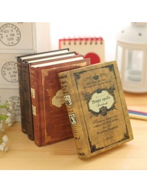 1Pcs Vintage Hard Cover Notebook Diary Journal Travel Business School Writing Notepads Supplies