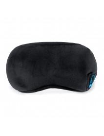 Wireless Bluetooth Eye Mask Headphone Earphone Sleeping Music Eye Shades Built-In Speakers Microphone for Home Travel