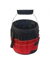 42 Pockets Multifunction Gardening Tools Backet Organizer 600D Oxford Waterproof Planting Hand Tools Storage Carry Bags