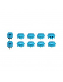 30mm 24mm Blue Push Buttons for Arcade Game Joystick Controller MAME