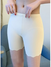 Seamless Butt Lifter High Waisted Plain Softies Safety Short Pants