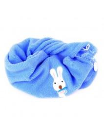 Cute Soft Hair Towel Dry Hair Hat Microfiber Solid Quickly Women Girls Ladies Cap