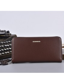 12 Card Slots Men PU Leather Long Wallet Casual Business Purse Card Holder Phone Bag Cluthes Bag