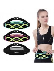 Haissky HSK-136 Outdoor Running Waterproof Reflective Stripe Waist Bag for iPhone 8 X Xiaomi