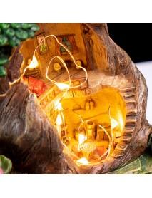 LED Creative Plants Pot Flower Plants Succulent DIY Container Home Garden Decorations