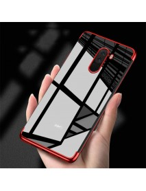 Bakeey Color Plating Transparent Soft TPU Back Cover Protective Case for Xiaomi Pocophone F1