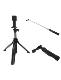 3 In 1 Wireless Bluetooth Selfie Stick Tripod Extendable Self Portrait Monopod For IOS Android