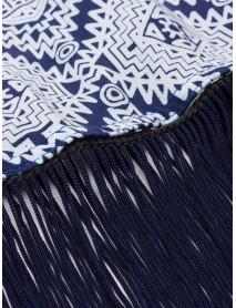 Bohemian Printed Tassels Women Beach Cardigan Short Sleeve