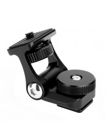 Ulanzi U-40 Monitor Mount Bracket Holder 180 Degree Rotation with Cold Shoe Mount for DSLR Camera