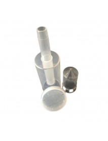 1Pcs Plastic Durable Air-lock Homebrew Exhaust Valve with Cap Beer Fermentation Wine Making Tools