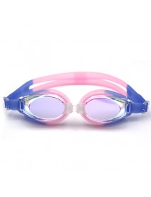 Men Women Outdoor Casual Electroplating Swimming Goggles Anti-fog Silicone Goggles