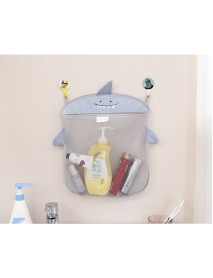 Honana BX-144  Cartoon Bathroom Folding Mesh Hanging Storage Bag  Bathing Toy Storage Organizer