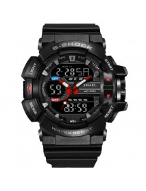 SMAEL 1436 Military Style LED Digital Watch Display Time Date Sport Wristwatch