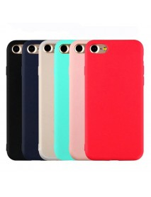 Bakeey Candy Color Matte Soft Silicone TPU Case for iPhone 6Plus/6sPlus