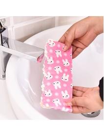 Honana TS-74 Creative Cartoon Toilet Base Sticker Waterproof Anti-fouling Animals Colorful Stickers