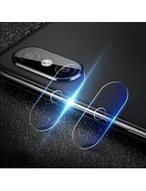 2 PCS Camera Lens Protector Soft Tempered Glass Rear Camera Phone Lens for Xiaomi Redmi Note 6 Pro