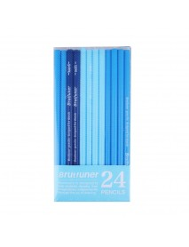 24 Pcs Sketch Pencil Art Drawing Pencil HB/2B/3B/14B Multiple Models Excellent Supply for School Student Adult