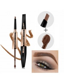 Double-Head Eyebrow Dyed Cream Dyeing Eyebrow Cream Eyebrow Pencil Set Waterproof Lasting
