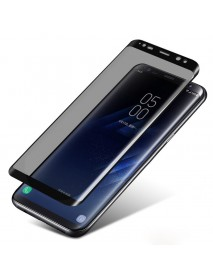 3D Curved Edge Anti Spy Tempered Glass Film For Samsung Galaxy S8