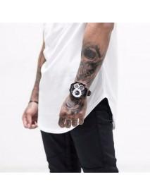 Men Cotton Sleeveless Mesh Breathable Hooded Gym Tops