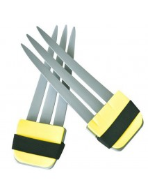 1Piece Halloween Cosplay Wolverine Claws Plastic Toys Festival Decoration