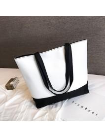 Bag Female New College Students Canvas Bag Ins Wild Slung Shoulder Bag Large Capacity Portable