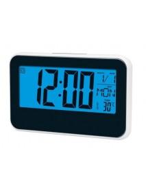 Voice Control Perpetual Calendar Clock Multi-function Large Screen Induction Timepiece With Temperature Digital Display Alarm Clock