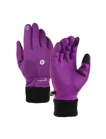 Outdoor Gloves Winter Warm Touch Screen Windproof Riding Skiing Sports Men Women
