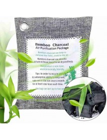 1pcs Air Purifying Bags Activated Carbon Closets Shoe Deodorant Bamboo Charcoal Bag Nature Freshener Odor Air Purifier Bag