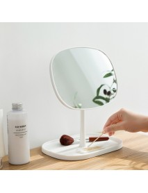 Portable Makeup Mirror Desktop Dressing Mirrors for Dormitory Home
