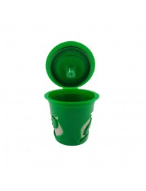 KCASA KC-COFF13 Refillable Coffee Capsule Cup Multiple Color Doiphin Reusable Refilling Filter For N