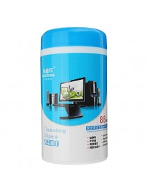88 x Multi-function Cleaning Wet Wipes For Laptop Cellphone LED LCD TV Computer iPad Monitor Clean
