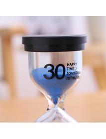15 Minutes Sandglass Hourglass Kitchen Timer Clock Children Learning Timer Table Decor