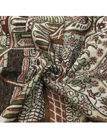 110 x 70cm Islamic Prayer Rug Musallah Prayer Mat Carpet for Home Travel