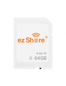 Ez share 4th Generation 64GB C10 WIFI Wireless Memory Card