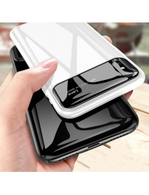Bakeey Protective Case for iPhone XS Max 6.5 Tempered Glass Lens Protection+PC Glossy Back Cover
