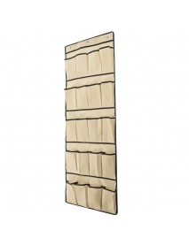 20 Grid Space-saving Wall-mounted Shoe Rack Cloth Multifunctional Clothes Storage Bag