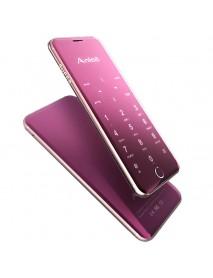 Anica A16 1.63 Inch 480mAh Touch Sensitive Keyboard Ultra Thin Dual SIM Bluetooth Mini Card Phone