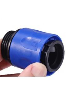 Garden Stretch Hose Adaptor Connector, Blue