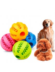 Pet Toys Rubber Leakage Food Ball Toy Funny Interactive Elasticity Ball Dog Chew Toys