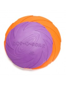 Yani-HP-PT5 Dog Pet Toys Natural Rubber Flying Catch Toy Pets Toy Soft Training Plate Floating Disc