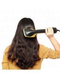 2 IN 1 Multi-functional Hair Dryer & Hair Straightener Styles Electric Hair Comb Negative Ion Care