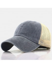 Baseball Cap Retro Sun Hat Breathable Hats