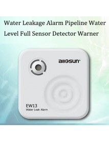 ALLSUN Water Leakage Alarm Bathtub Wash Basin Water Level Full Sensor Detector Warner